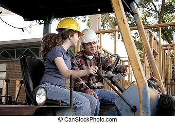 Entrenamiento de construcción