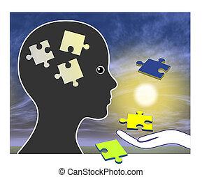 Entrenamiento de memoria tras amnesia