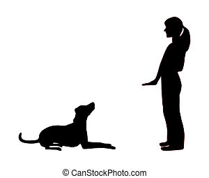 Entrenamiento de perros (obediencia