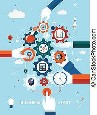 entrepreneurship, empresa / negocio, comienzo