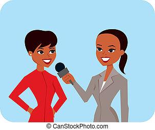 Entrevistar mujeres
