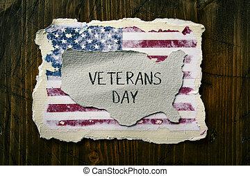 Envíale un mensaje a los veteranos de EE.UU
