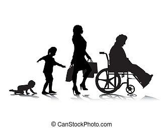 envejecimiento, humano, 6