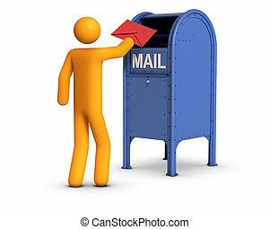 Enviando carta
