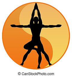 Equilibrio de yoga