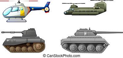 equipments, transporte, campo de batalla