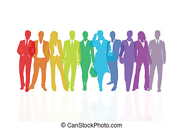 Equipo arco iris