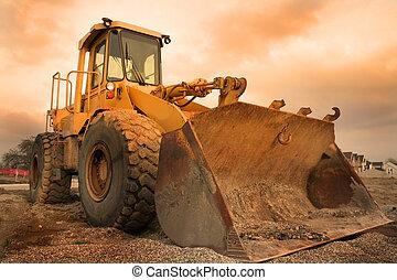 equipo, construcción