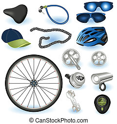 Equipo de bicicletas