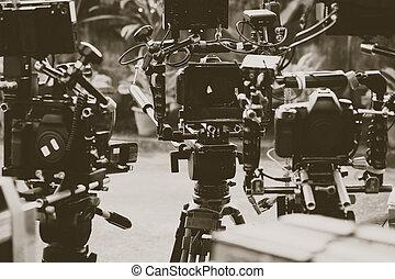 Equipo de cámara profesional