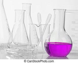 Equipo de laboratorio de vidrio