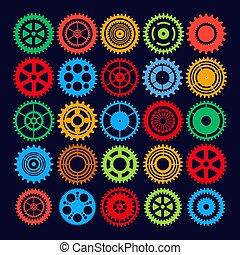 Equipo de multicolor