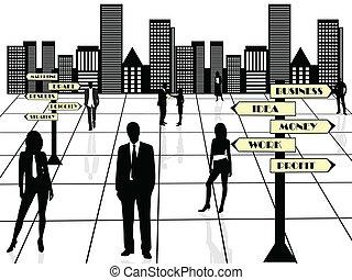 Equipo de negocios