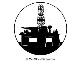 Equipo de perforación de aceite