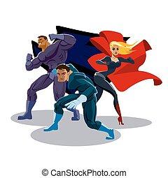 Equipo de superhéroes
