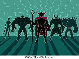 Equipo de supervillanos