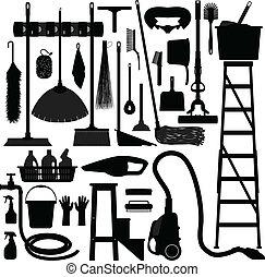 Equipo doméstico de herramientas