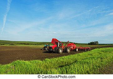Equipo especial para la cosecha