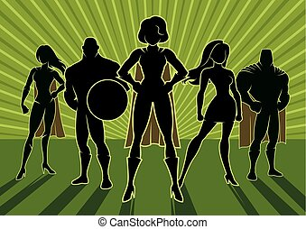 Equipo Superhéroe 3