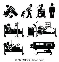 Equipos de soporte de vida recortes