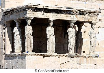 Erechteum atens griego