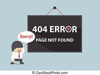 Error 404, Page no encontrado
