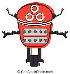 Es como un robot mono