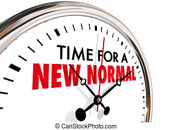 Es hora de un nuevo cambio normal de reloj marcando ilustraciones 3D.Jpg