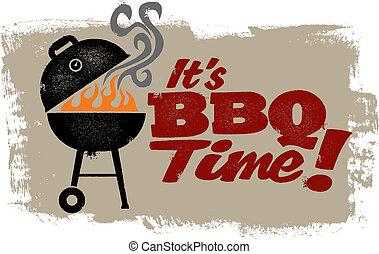 Es la hora del BBQ