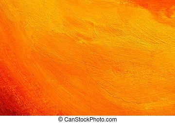 Es textura pintada de naranja