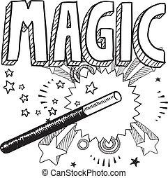 Esbozo mágico