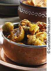 Escabeche vegetal mezclado de la India