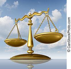 escala de justicia