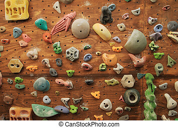 Escalar pared