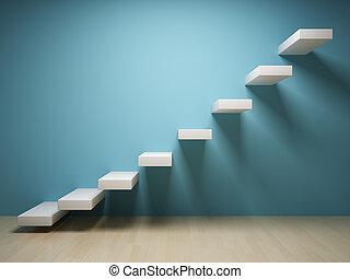 Escalera abstracta