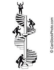 Escalera de carrera