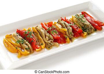 escalivada, cocina española