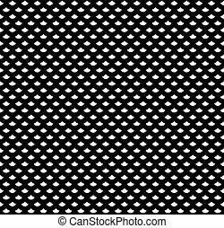 Escamas en blanco y negro