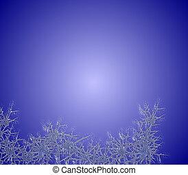 Escarcha azul