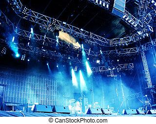 Escena de conciertos