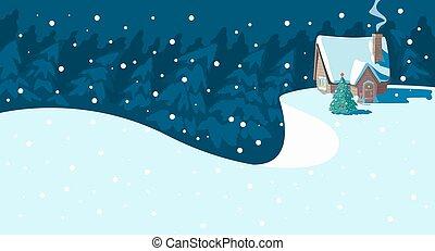 Escena de Navidad.