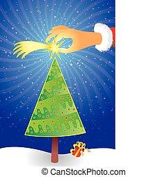 Escena de Navidad
