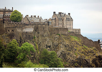 escocia, castillo de edimburgo, gb