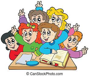 escolares, grupo