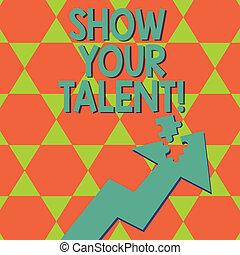 Escribir notas muestra tu talento. Una foto de negocios que muestra aptitudes demostrativas demostrando habilidades de conocimiento.