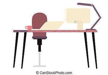 escritorio, ministerio del interior