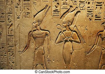Escritura antigua egipcia