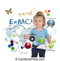 Escritura de una joven científica
