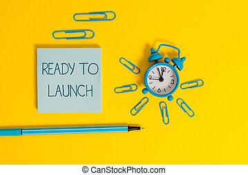 escritura, nuevo, texto, reloj, palabra, algo, celebrar, bolígrafo, listo, wakeup, concepto, clips, introducir, empresa / negocio, mercado, coloreado, alarma, acontecimiento, fondo., o, launch., bloc, metal
