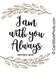 """escritura, vector, diseño, biblia, usted, cartel, tipografía, always"""""""